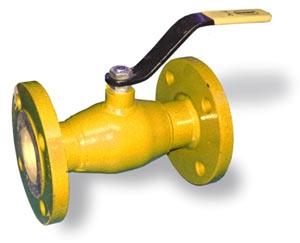 Шаровые краны газа WKc-1a неполнопроходные