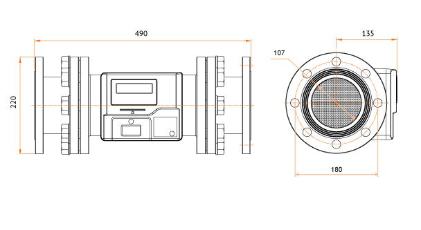 Чертеж газового клапана G40 Elektromed